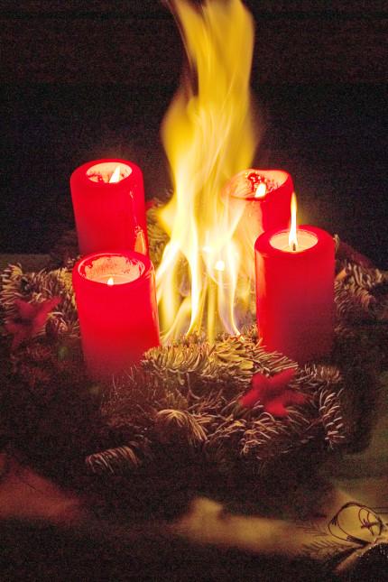 Brandschutztipps Advent