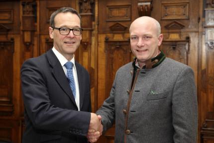 Der britische Botschafter zu Gast im Alten Rathaus