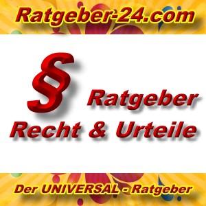 Ratgeber-24.com - Recht und Urteile - Aktuell -