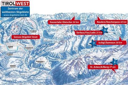 TirolWest - Zentrum der weltbesten Skigebiete