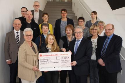 11.650 Euro verteilte die Stiftung