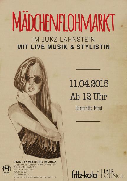20150311_Maedchenflohmarkt_Plakat