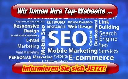 Wir bauen Ihre Webseite